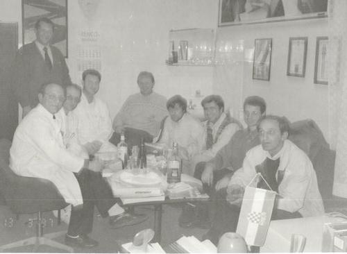 Osnivačka skupština, 13.ožujak 1997. u prostorijama Djelatnosti za kirurške bolesti, Opće bolnice Pula