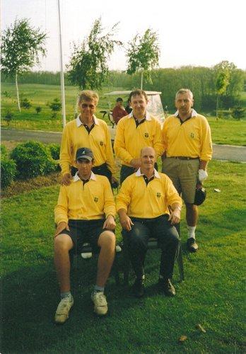 Hrvatska golf liga, Henche, Mađarska, 1998.